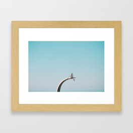 Center Court Framed Art Print