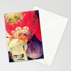 China Town in San Francisco Stationery Cards