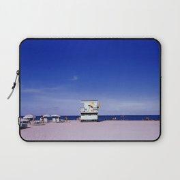 Miami Beach 90' Blue Laptop Sleeve
