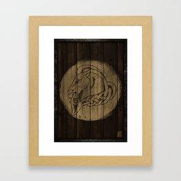 Horse Shield Framed Art Print