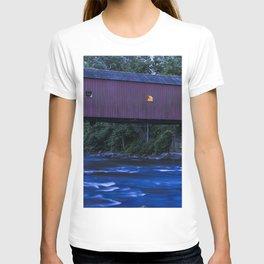 Covered Bridge, West Cornwall T-shirt