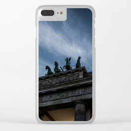 Chariot of Fate Clear iPhone Case