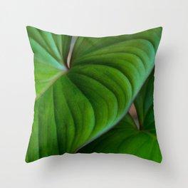 Homalomena II Throw Pillow