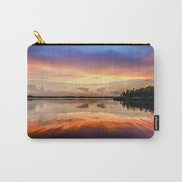 Sunset Symmetry Carry-All Pouch