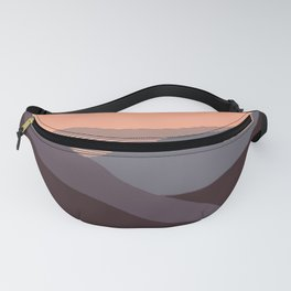 Mountain views  Fanny Pack
