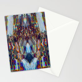 CMYK Warp pt.1 Stationery Cards