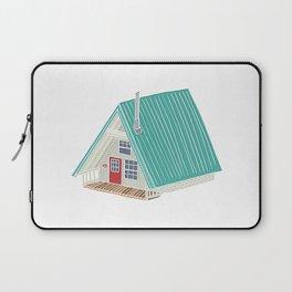 Little A Frame Cabin Laptop Sleeve