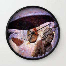 oyster  fantasy  Wall Clock