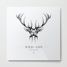 WILD LIFE / The Damatopsidae Metal Print
