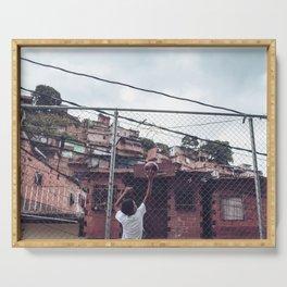San Agustin - Caracas - Venezuela Serving Tray