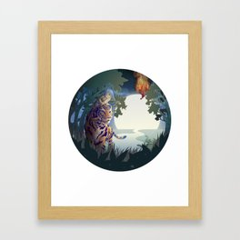 Intuition Framed Art Print