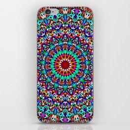 Colorful Life Garden Mandala iPhone Skin