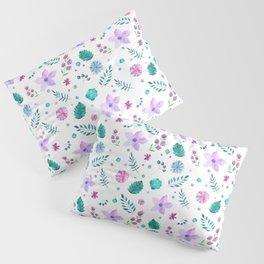 Floral Print Pillow Sham