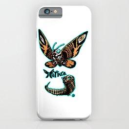 Mothra Kaiju Print FC iPhone Case