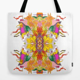 Free Psych and Mirrors - Antonio Feliz Tote Bag