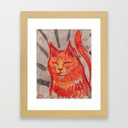Tangerine Bowie Framed Art Print