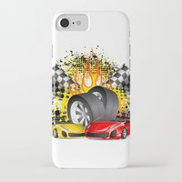 cars iPhone & iPod Cases featuring Cars by ismailburc
