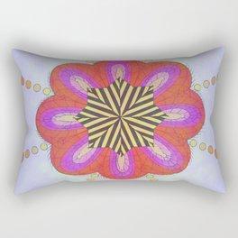 La flor cliptoriana Rectangular Pillow