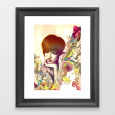 Inspiration Evaporation Framed Art Print