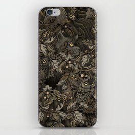Fit In (autumn night colors) iPhone Skin