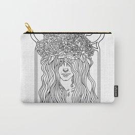 She. Art Nouveau. Carry-All Pouch