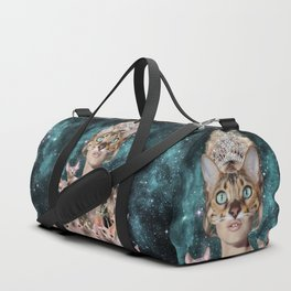 Cat Lady Duffle Bag