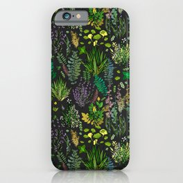Aromatic Garden for Health and Well Being iPhone Case