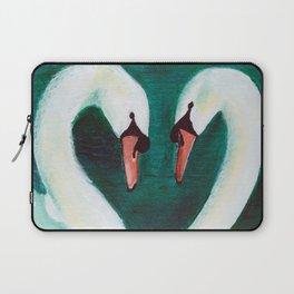 Swans Flirt Laptop Sleeve