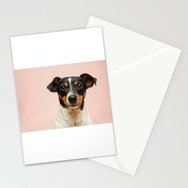 Mans Best Friend is a Dog 3 Stationery Cards