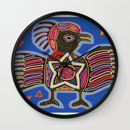 Panama Molas Wall Clock