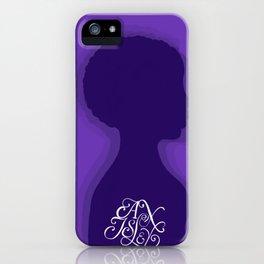 Alex Isley Album Remake V2 iPhone Case