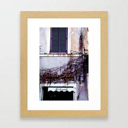 Dolce Vita Framed Art Print