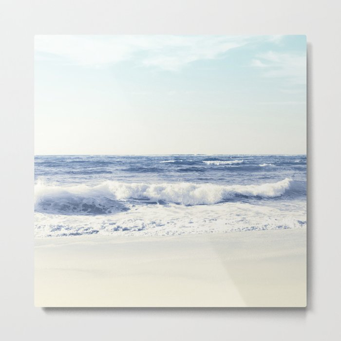North Shore Beach Metal Print
