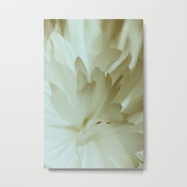 Romantic Flower Retro Vintage Look Metal Print