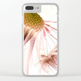 Dandelion Inversion Clear iPhone Case