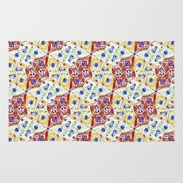 Wooden Shoes Tessellation Rug