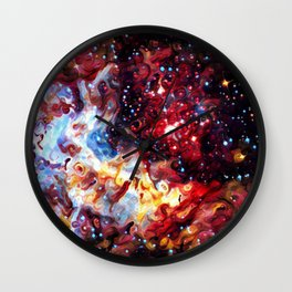 ALTERED Large Magellanic Cloud Wall Clock