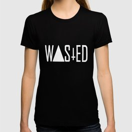 WASTED TEE DOPE YOUTH HYPE SWAG COKE TRIANGLE INVERTED CROSS WASTED Dope T-shirt