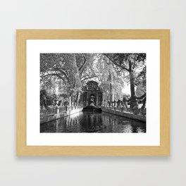 La Fontaine de Medicis Framed Art Print