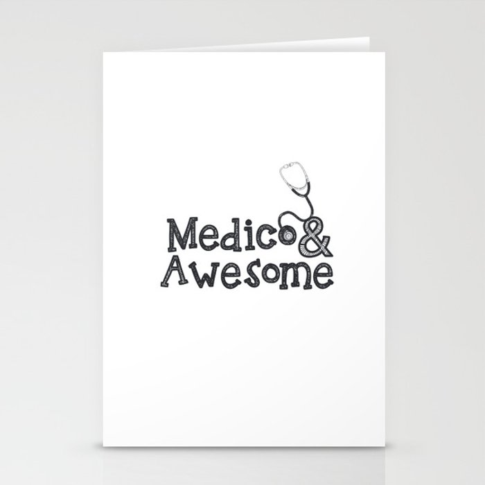 Medico & Awesome Stationery Cards
