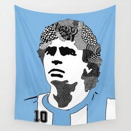 Diego Maradona Argentina Wall Tapestry