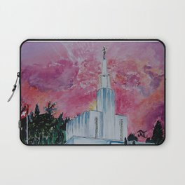 Bern Switzerland LDS Temple Laptop Sleeve