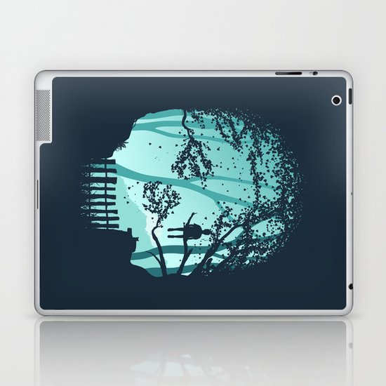 Don't Look Back In Anger Laptop & iPad Skin