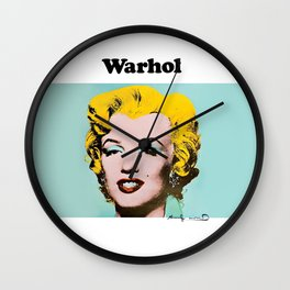 Marilyn Warhol's Wall Clock