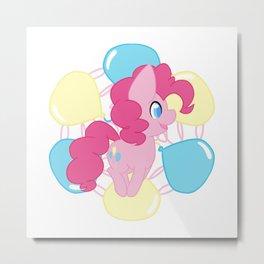 Chibi Pinkie Pie Metal Print
