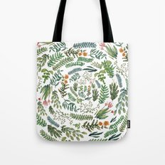 water color rotation garden Tote Bag