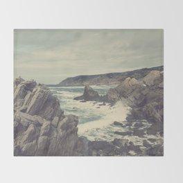 'Sea as far as you can see' Throw Blanket