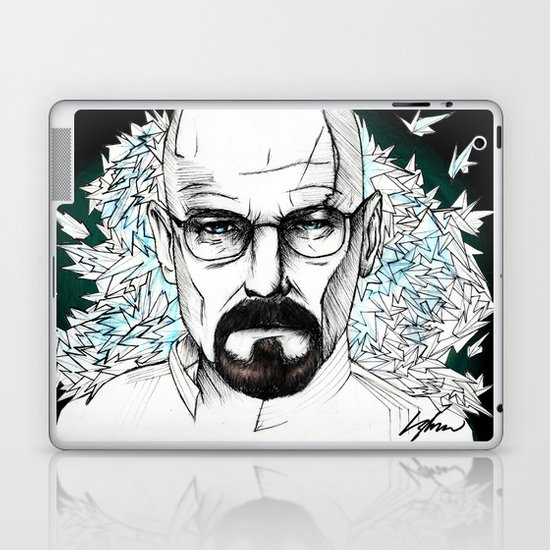 "Breaking Bad ""Mr White"" Laptop & iPad Skin"