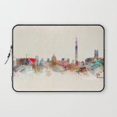 washington dc skyline Laptop Sleeve