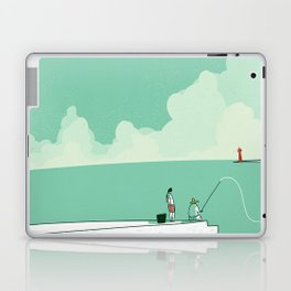 Sea fishing Laptop & iPad Skin
